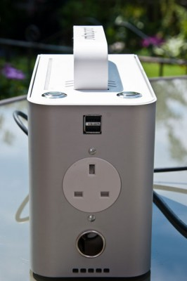 SolarPod Portable Solar Generator Briefcase - Front