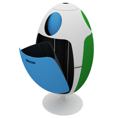 Ovetto Recycling Bin