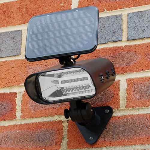 Thea solar garden spot light envirogadget thea solar garden spot light mozeypictures Image collections