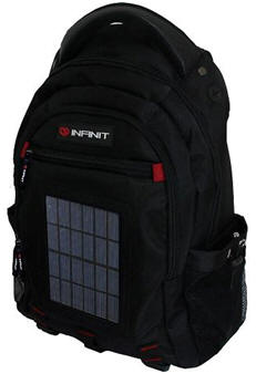 A review about Infinit Solar Charger Bag