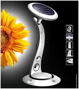 Sunflowers inspire Solar Power Plant