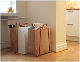 Eco friendly bag holders