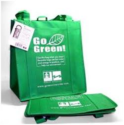 Eco green bags