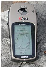 Garmin eTrex Summit system