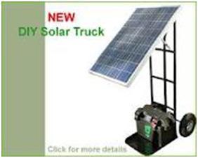 New DIY solar truck