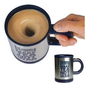 Plain lazy self-Stirring Mug