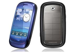 Samsung's Blue Earth solar ph