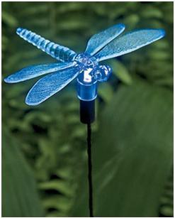 Solar dragonfly lights
