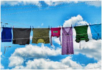 go green with Laundry
