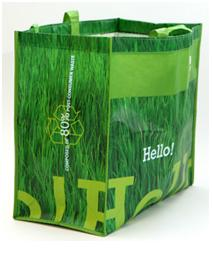 greens shopping bags