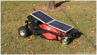 new solar mower