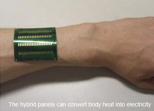 Body heat  computers