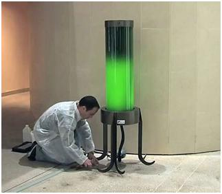 Algae Street Lamps To Suck Up CO2