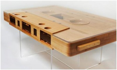 A Coffee Table Made From Practical Reclaimed Wood