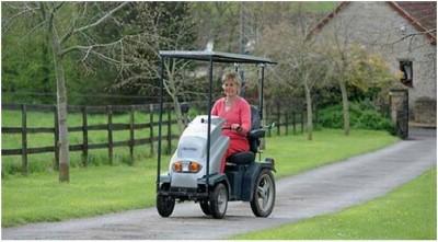 Solar Powered wheelchairs