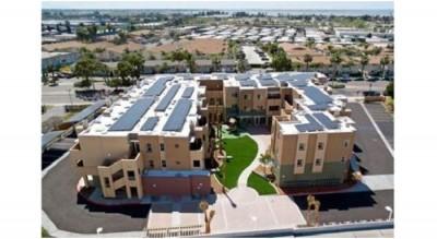 Solar Powered Apartment Complex