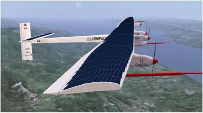 Solar Powered Airplane