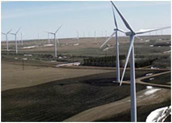 Peace Garden wind farms