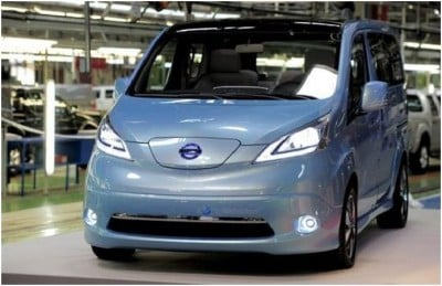 Nissan To Produce Eco-Friendly E-NV300 Vans In 2013