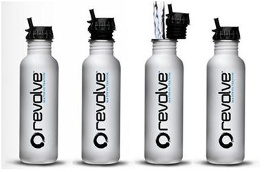 Revolve Water Bottles Substitute To Plastic Bottles
