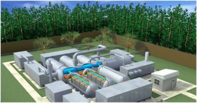 Hydrogen Cell Power Plants