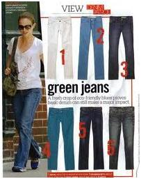 Green Jeans And Evolution Of Eco-Friendly Fashion