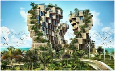 Vincent Callebaut Concept Of Eco Village