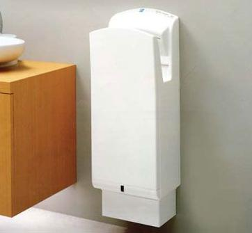 Eco-friendly hand dryer from Mitsubishi GWP analysis