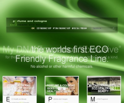Eco Health and Beauty – World's first organic perfume range